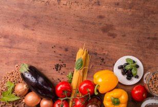 box cuisine avec des produits frais
